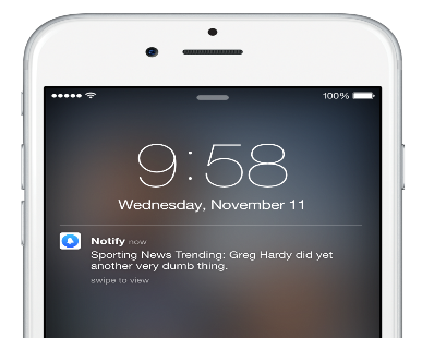 iOS Push Notification