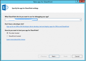 New App for Sharepoint