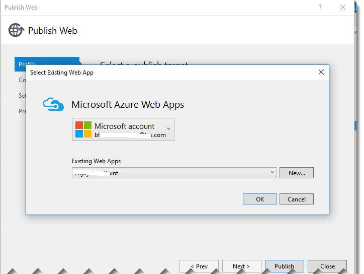 login into azure account