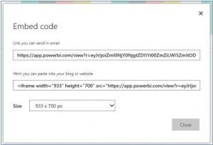 Copy embedded code