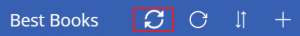 Click on sync icon