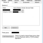 Verify Enterprise admin group