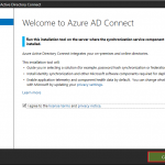 Welcome AD Azure connect
