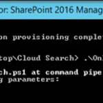 sharepoint administrator management shell